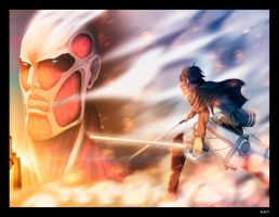 Attack on Titan by RobCV