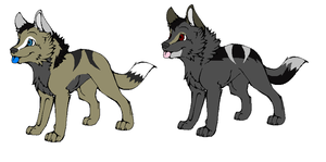 Pups for Calaper by LizzysAdopts