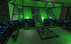 Space Engineers - Arc Reactor Control Room by Shroomworks