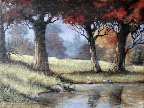 (trees) Oil Painting 0 by Boias
