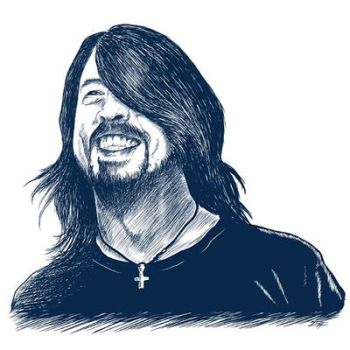 DAVE GROHL by gefiction