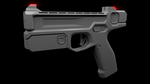 Model practicing - Sophie's gun, unfinished by Optimus97
