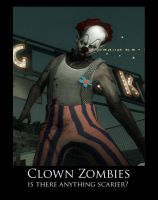 Zombie Clowns by wolf54321