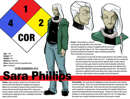 Civil War- Sara Phillips ref by ZarathePirate