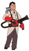 Medic Vector by pikmin789