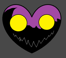 Necro Heart Mask Conept by PikminHensley