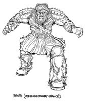 BARBARIANS BRUTE Character Design by PaulSizer