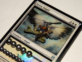 MTG Serra Angel Life Counter by vita-luna