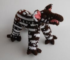 Prize: Baby Tapir by SadDaysCrochet by Pickleweasel360