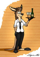 Waitress by Floyd-Kangaroo