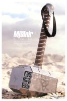 Mjolnir Large by SgtHK