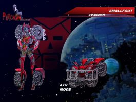 gobots: movie style smallfoot by puticron