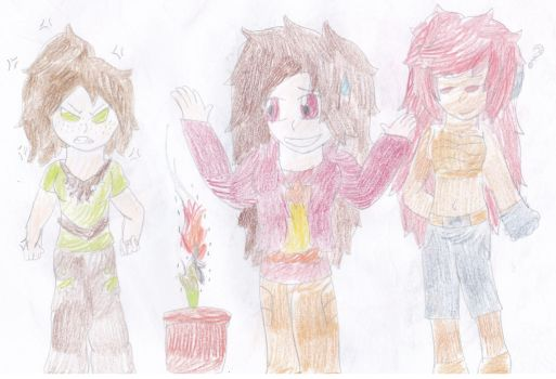 Fire and Plants Don't Mix Well by Skyracinghero717