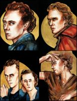 Tom Hiddleston collage by Farbenfrei
