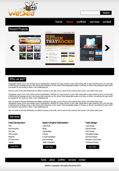 Webee template design by navmax