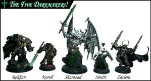 The Five Darkmakers by Proiteus