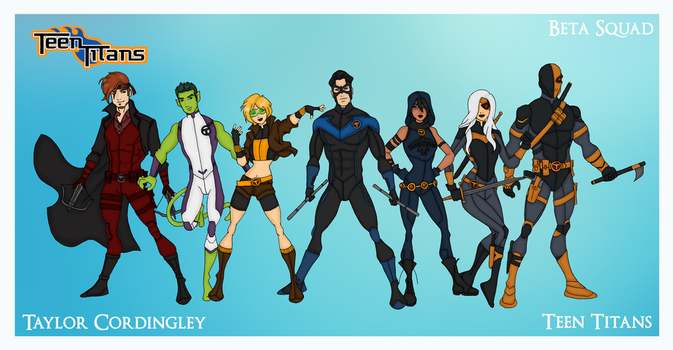 My DCU - Teen Titans Beta Squad Redesigns by Femmes-Fatales
