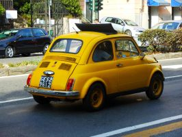 1972 Fiat 500 R by GladiatorRomanus