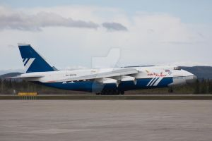 Polet AN-124-100 T-O by altitude604