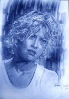 Meg Ryan by aaronwty