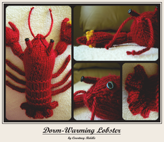 knit animals - lobster by GRAMMAR
