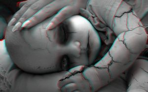 Creepy Baby 3-D conversion by MVRamsey
