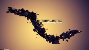 Minimalistic Abstraction Wallpaper/Large Piece by SKILLEDGRAPHICS