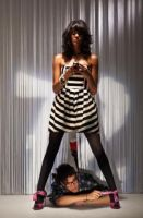 Jimmy Choo 72 photo shoot by Make-upArtist