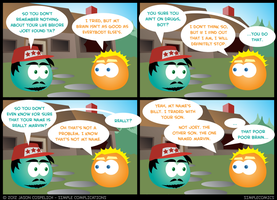 SC373 - Aquarius Thanksgiving 13 by simpleCOMICS
