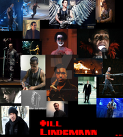 Till Lindemann Collage by Animelovinggirl14