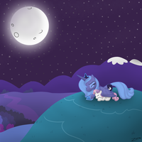 Singing to the Moon by Zonra