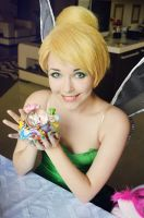 The Gift Of A Friend Tinkerbell by Helen-Stifler