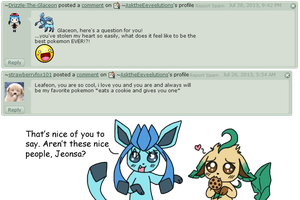 Q and A 23 by AsktheEeveelutions