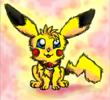 My pikachu - Sparky by ConkerTSquirrel