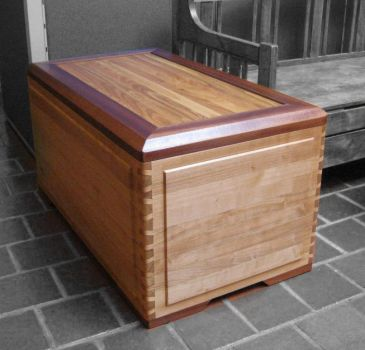 Artisan work - chest with the nejiri arigata joint by thepakle