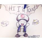 HI I'M TOAD by anaii317