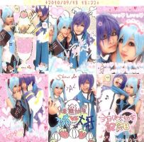 Kaito x Miku: Purikura fun by Itchy-Hands