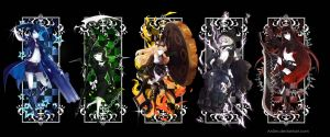 Black Rock Shooter Frame Set by An0m