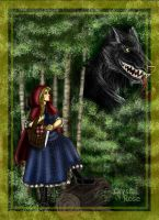 Little Red Riding Hood by redheaded-step-child