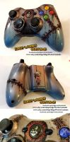 Bioshock 2 Rapture Xbox Controller by Edge-Works