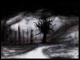 The Lonely Tree by Art-of-the-Seraphim