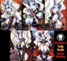 Lady Death Artist Returns by Axebone