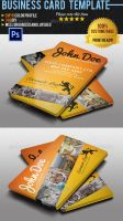 Adventure Travel Business Card 2 by Ruthgschultz