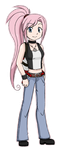 Pokemon Trainer OC- Yuko by Fire-Girl872