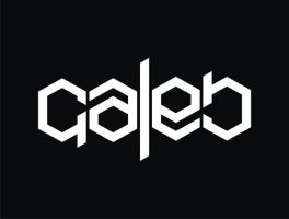 ambigram CALEB by tora28142