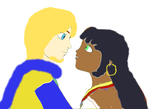Phoebus and Esmeralda by Shellquake