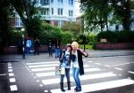 Let's go across the Abbey Road by Hikarulein