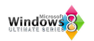 Windows 8 Ultimate Logo by creativecraig