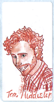 Tom Hiddleston sticker by giadina96