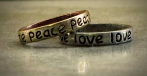 Peace and Love by caitlinwithasea